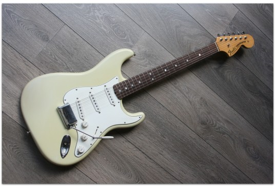 1969 Stratocaster Vintage White Closet Classic