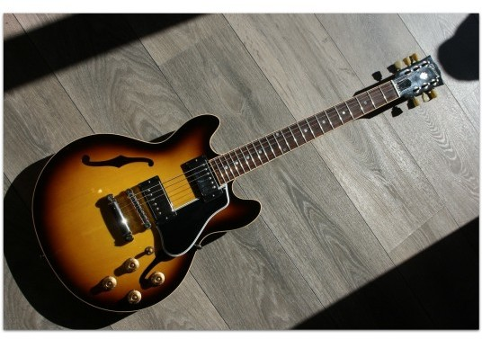 Custom Shop CS- 339 Antique Burst
