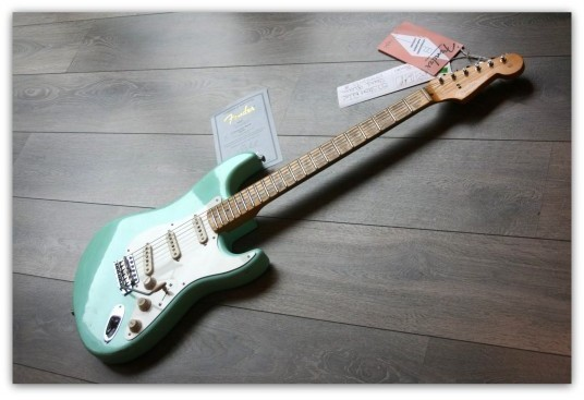 ´57 Stratocaster Relic  Surf Green