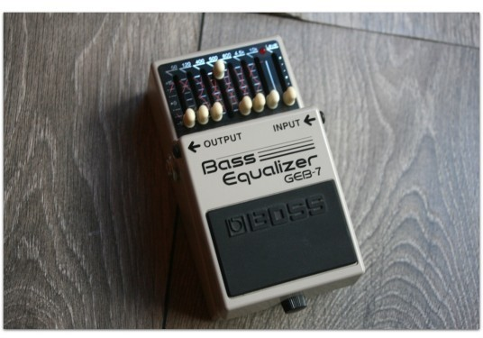 "BOSS ""GEB-7 Bass Equalizer"""