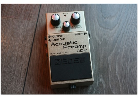 "BOSS ""AD-2 Acoustic Preamp"