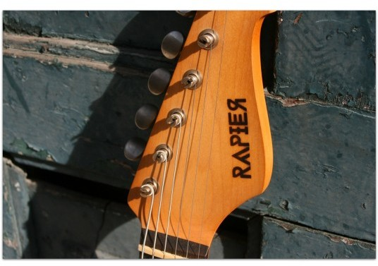 RAPIER GUITARS S-Steel 23 Tobacco Sunburst Relic