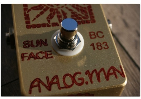 ANALOGMAN Sun Face Fuzz BC 83 Silicon