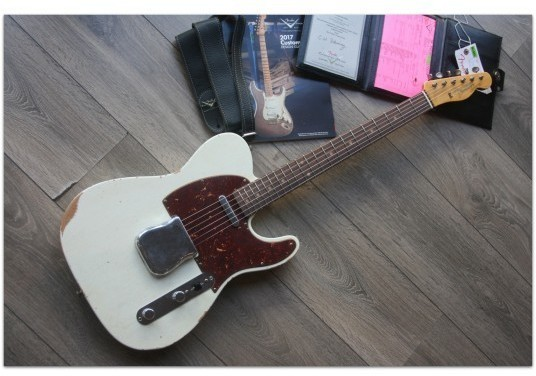 FENDER  1961 Relic Telecaster ,Aged Olympic White,Rosewood Fingerboard