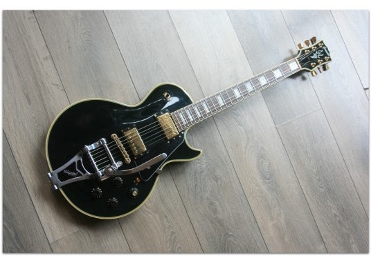 GRECO EGC 90 Les Paul Custom Type Made In Japan of 1990, Black