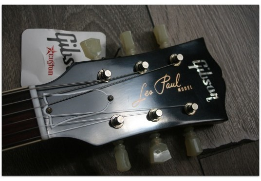 GIBSON Custom 1960 Les Paul Reissue VOS Faded Tobacco