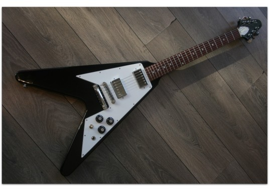 "GIBSON ""Flying V Limited Edition Black"""