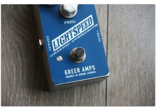 "GREER AMPS ""Lightspeed Organic Overdrive"""