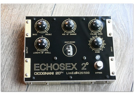 "GURUS "" Echosex 2 / 20Th Anniversary Limited Edition 426/500"""