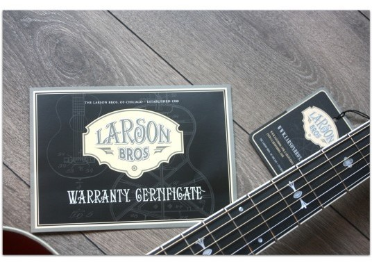 "LARSON ""STAHL 003 Vintage 1900"""