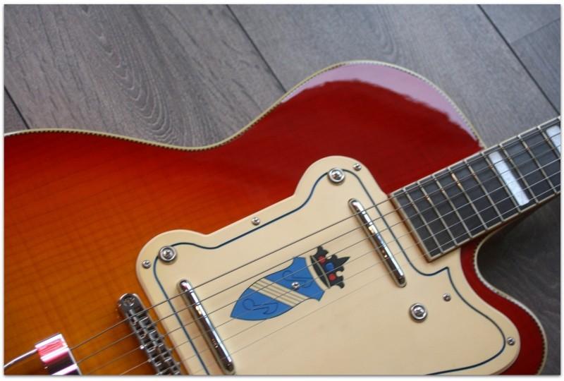 """KAY GUITARS """"Thin Twin - K161V"""""""