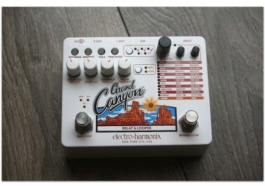 "EHX ""Grand Canyon"" (Delay & Looper)"