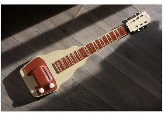 "GIBSON ""BR-9 Lap Steel Guitar Original of 1949 with her original hardcase"""