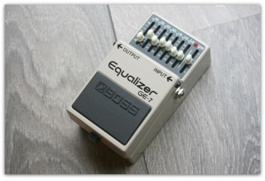 "BOSS ""Equalizer GE-7"""