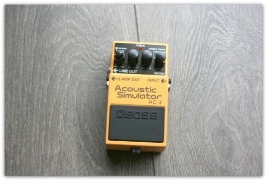 "BOSS ""Acoustic Simulator AC-3"""