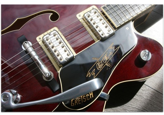 "GRETSCH ""G6120T Limited Edition '59 Nashville® Single-Cut with Bigsby, Ebony Fingerboard, Dark Cherry Stain"""
