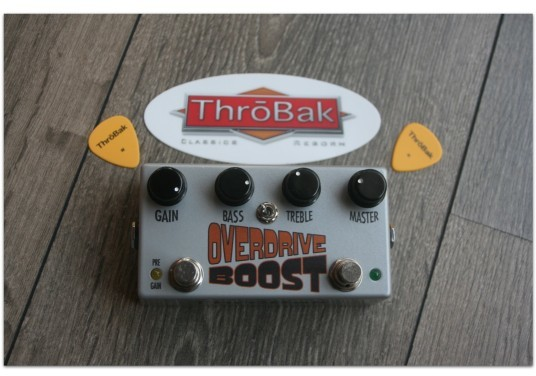 "THRÖBACK ""Overdrive Boost"""