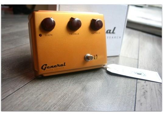 "GENERAL ""Retro Klon Centaur Gold"""