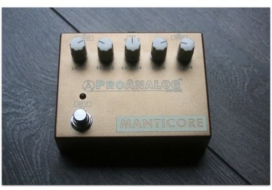 "ProAnalog Devices ""Manticore Version 2 Overdrive Gold"""