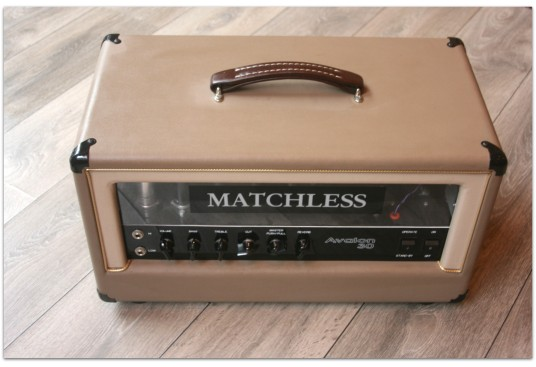 "MATCHLESS ""Avalon 30 Head with Reverb and Plexiglass Front Panel"""