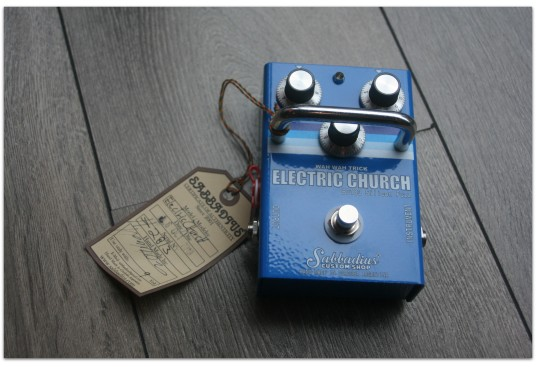"SABBADIUS ""Electric Church 183 Silicon Fuzz"""