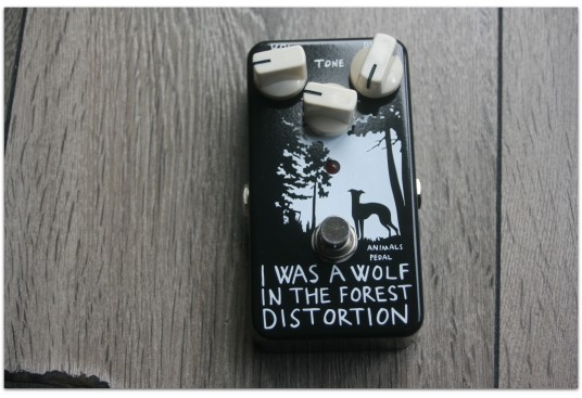 "ANIMAL PEDALS""Animals Pedal I Was A Wolf In The Forest Distortion"""