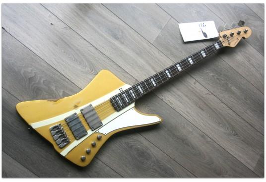 "SANDBERG ""Forty Eight 4-strings Gold Aged"" GIG BAG"