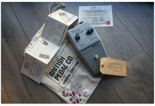 "BRITISH PEDAL CO. ""Professional MKII Tone Bender OC81D"""