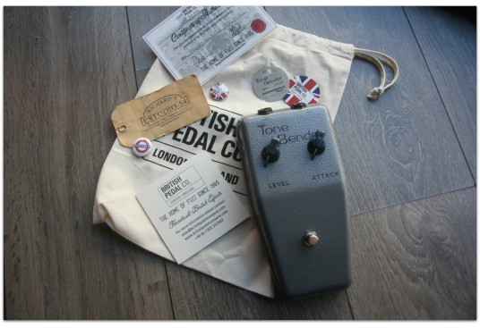 "BRITISH PEDAL CO. ""MKI.5 Tone Bender"""