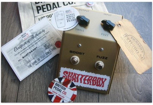 """BRITISH PEDAL CO. """"Shatterbox"""""""