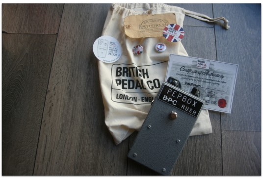 "BRITISH PEDAL CO. ""WEM Pep Box"""
