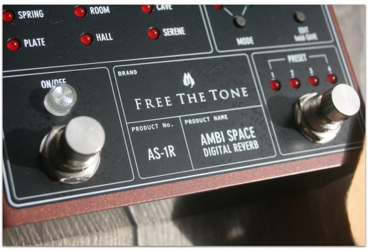 "FREE THE TONE ""Ambi Space AS-1R"""