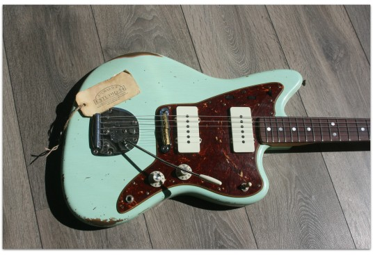"FENDER ""Custom Shop 1965 Jazzmaster Relic Faded Aged Surf Green"""