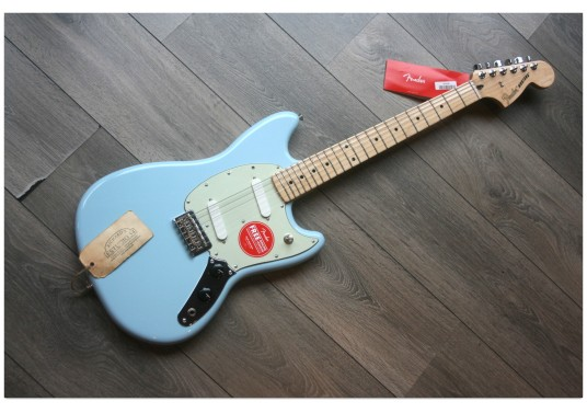 "FENDER ""Player Mustang Sonic Blue, Maple"""