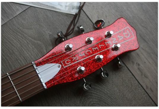 """DANELECTRO """"'59M NOS+ Red Sparkle"""""""