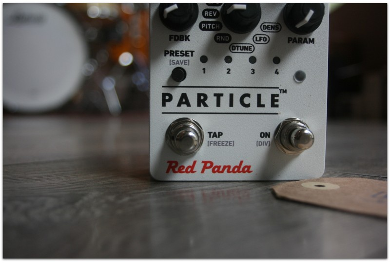"""RED PANDA """"Particle"""""""