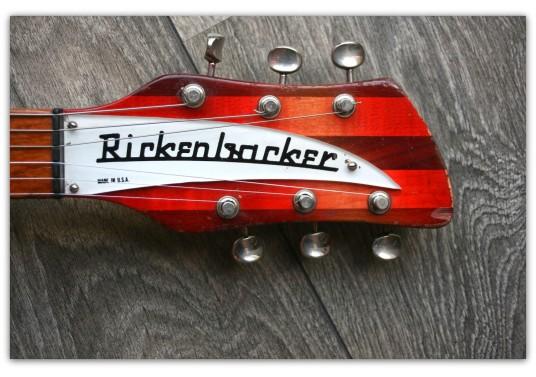 """RICKENBACKER """"Model 340 Fireglo"""" VERY RARE !!!!!!!!!! ORIGINAL DE ENERO DE 1967!!!!!"""
