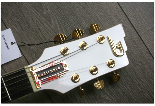 "DUESENBERG ""Startplayer TV Phonic Venetian White"""