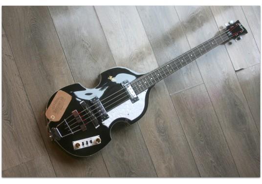 """HOFNER """"Ignition Bass Transparent Black Limited"""""""