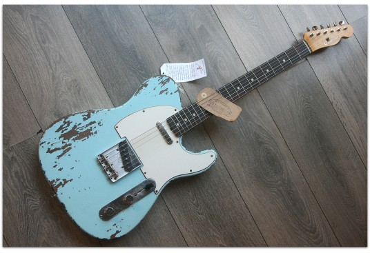 "General ""1960s T Custom Special Máster 60 Sonic Blue"""