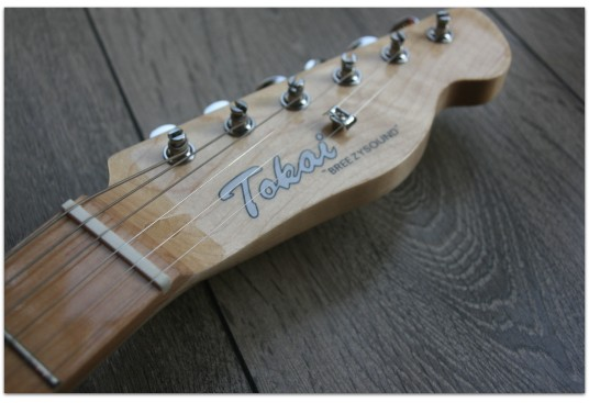 """TOKAI """"ATE 60 Thinline, Maple, Ashtray NOT included"""""""