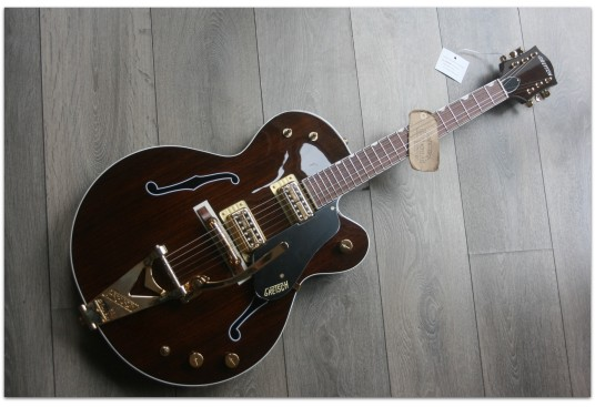 """GRETSCH """"G6119TG-62RW-LTD Limited Edition '62 Rosewood Tenny with Bigsby® and Gold Hardware, Rosewood Fingerboard, Natural"""""""