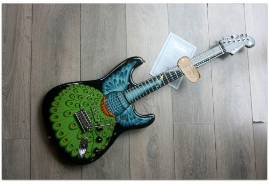 """FENDER """"Custom Shop Limited Edition Stratocaster """"Proud"""" Pamelina H."""" (Only 3 pieces made worldwide)"""