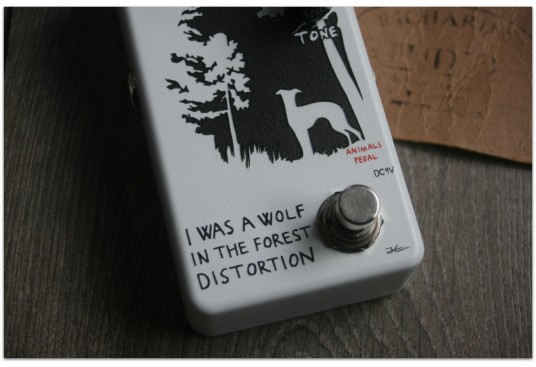 """ANIMAL PEDALS """"Animals Pedal I Was A Wolf In The Forest Distortion"""""""