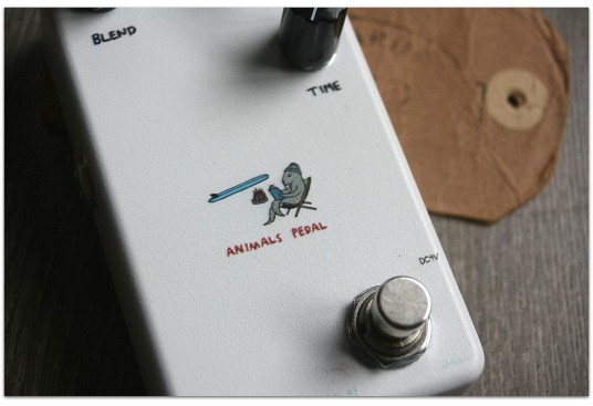"""ANIMAL PEDALS """"Relaxing Walrus Pedal"""""""