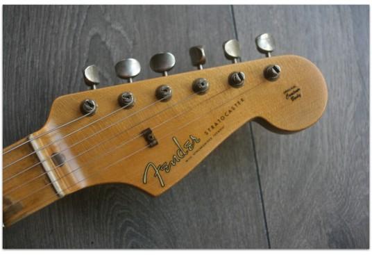 "Fender ""Custom Shop '57 Stratocaster Journeyman Relic, Aged Black"""