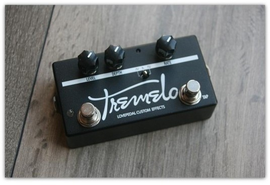 Custom  Tap Tempo Tremelo