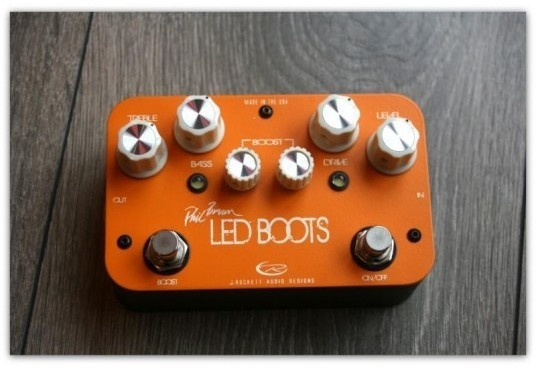 Led Boots Phil Brown