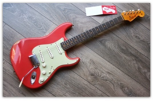 1960 Stratocaster in Fiesta Red Finish