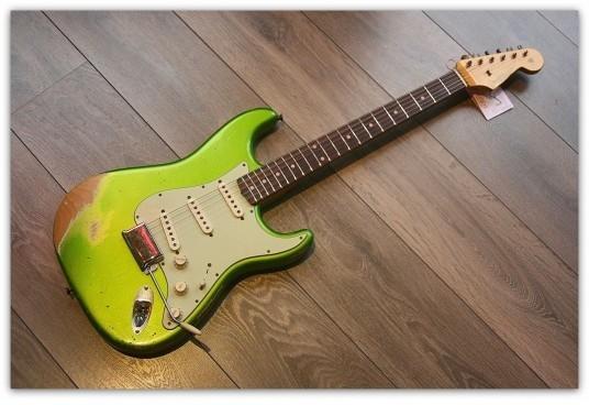 Fender ´62 Strat Lime Green HR